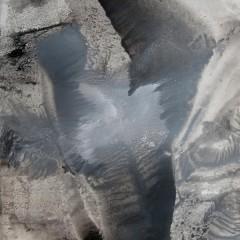 Dotyk 15, papier, akryl, 50 cm x 32,5 cm, 2012