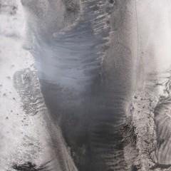 Dotyk 18, papier, akryl, 50 cm x 32,5 cm, 2012