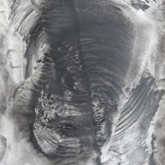 Dotyk 20, papier, akryl, 50 cm x 32,5 cm, 2012