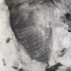 Dotyk 21, papier, akryl, 50 cm x 32,5 cm, 2012