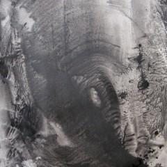 Dotyk 22, papier, akryl, 50 cm x 32,5 cm, 2012