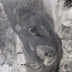 Dotyk 08, papier, akryl, 50 cm x 32,5 cm, 2012