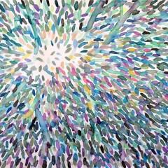 bez tytułu, 29,7 cm x 42 cm, papier, akwarela, 2019