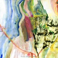 bez tytułu, 29,7 cm x 42 cm, papier, kolaż, akryl, 2019