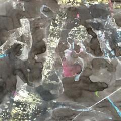 bez tytułu, 29,7 cm x 42 cm, papier, technika własna, 2019