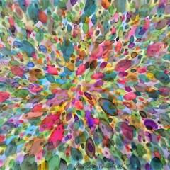 bez tytułu, 29,7 cm x 42 cm, papier, akwarela, ecolina, 2019