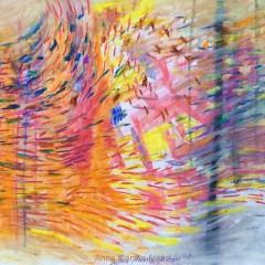 bez tytułu, 29,7 cm x 42 cm, papier, pastel sucha, 2019