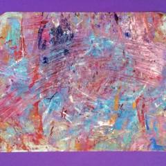 bez tytułu, 23 cm x 30 cm, papier, olej, 2018