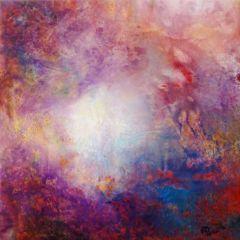 Wewnętrzna Mapa 06, olej na płótnie, 50 cm x 50 cm, 2013