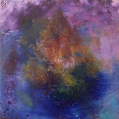 Wewnętrzna Mapa 17, olej na płótnie, 50 cm x 50 cm, 2013