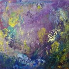 Wewnętrzna Mapa 21, olej na płótnie, 50 cm x 50 cm, 2013
