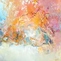 Wewnętrzna Przestrzeń 01, olej na płótnie, 54 cm x 73 cm, 2015