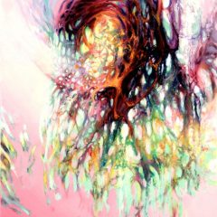Wewnętrzna Przestrzeń 12, olej na płótnie, 52 cm x 38 cm, 2016