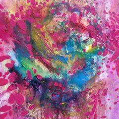 Wewnętrzna Przestrzeń 19, olej na płótnie, 50 cm x 30 cm, 2016