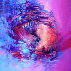 Wewnętrzna Przestrzeń 06b, olej na płótnie, 75 cm x 55 cm, 2015