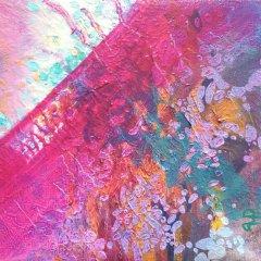 Wewnętrzna Przestrzeń 21, olej na płótnie, 18 cm x 18 cm, 2016