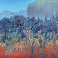 Wewnętrzny Ogród 16, olej na płótnie, 60 x 80 cm, 2020