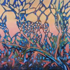 Wewnętrzny Ogród 17, olej na płótnie, 60 x 80 cm, 2020