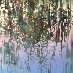 Wewnętrzny Ogród 19, olej na płótnie, 60 x 80 cm, 2020