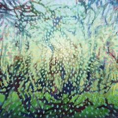 Wewnętrzny Ogród 20, olej na płótnie, 65 x 92 cm, 2020